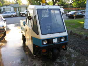 1982 Cushman 3 Wheel Metermaid Car