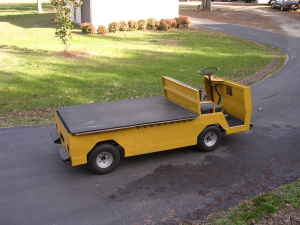 Cushman Flatbed Truck Great For Yard Work Or Play