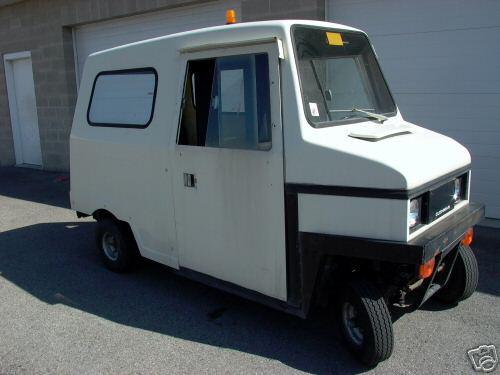 Ebay Motors Cushman Truckster Delivery Van 4 Wheel Item