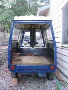 76 Cushman Truckster Van