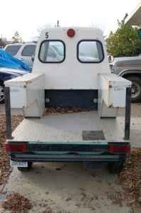Cushman Paint Ball Tank Meter Maid Car 3 Wheeler