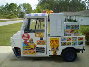 2001 Cushman Ice Cream Truckster