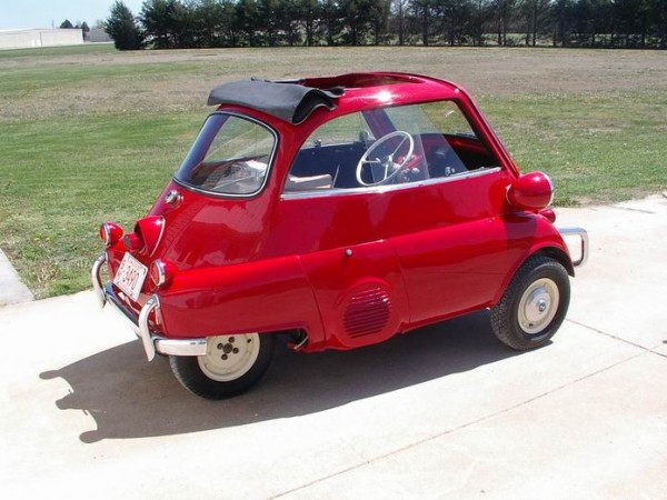 to His Bmw Isetta Art Car